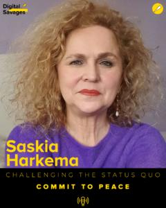 Commit to Peace with Saskia Harkema Saskia Harkema 1 240x300  Commit to Peace with Saskia Harkema Saskia Harkema 1 240x300